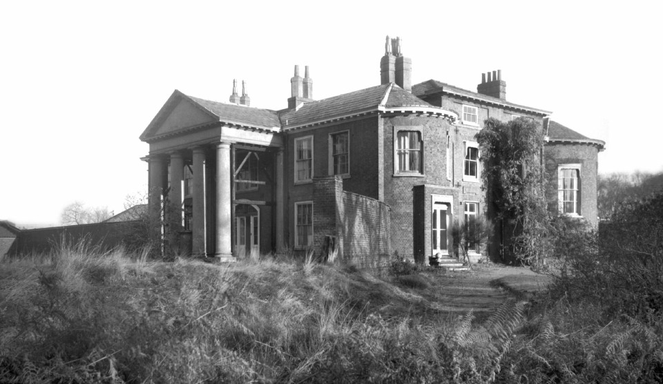 Mousehold House near Norwich home of Gen Sir Robert John Harvey