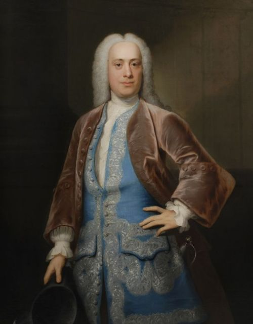Portrait of Thomas Wright of Wighton by John Theodore Heins 1697-1756