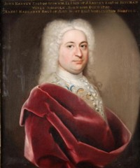 Portrait of John Harvey of Norwich and later of Ipswich 1699-1750 by John Theodore Heins