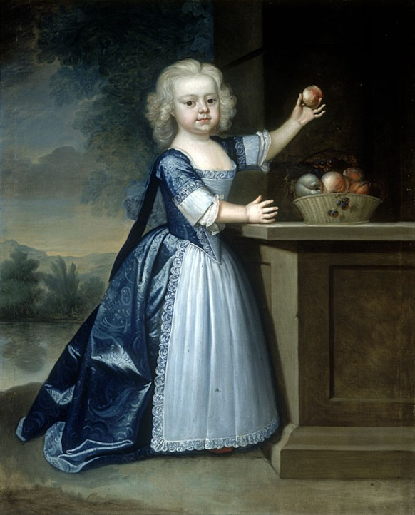 Portrait of Malachi Hodshon  as a child1727-1769