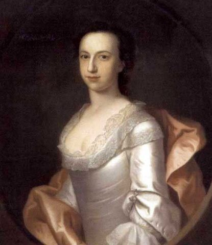 Portrait of a Lady Painted by the artist  John Theodore Heins 1697-1756 of Norwich, Norfolk.