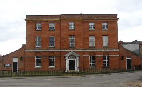 The Hall, Stoke Ferry, Norfolk, England.  Build by Henry Linhooke Helsham in 1790
