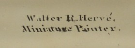 Walter R Hervé (Herve)