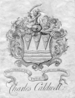 Bookplate of Charles Caldwell
