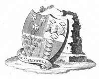 Bookplate of R A Caldwell