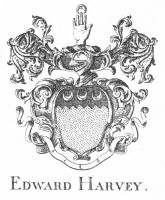 Bookplate of Edward Harvey