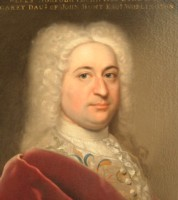 Portrait of John Harvey 1699-1750 of Ipswich painted by the artist John Theodore Heins of Norwich, painter.