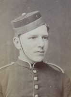 Portrait of Maj Gen Frederick Crofton Heath-Caldwell as a cadet