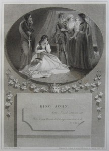 King John Painted by Thomas Stothard RA, Engraved by James Heath Engraver to his Majesty and his RH the Prince of Wales.