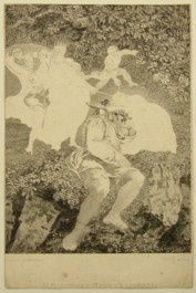 Early proof copy of the Engraving of Midsummer Night's Dream Painted by Thomas Stothard RA, Engraved by James Heath.