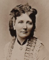 Portrait photograph of Mary Emma Lady Heath 1826-1902 of Anstie Grange