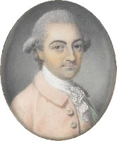 Miniature portrait of John Hesketh stolen in 2000 and recovered at Bonhams in 2010.