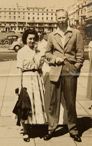 David Cuthbert Lyall Holland and Rosemary Anne Griffiths 1950.