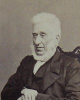 Photographic Portrait of Rev Charles Jones 1793-1866 Vicar of St Mary's Church Pakenham Suffolk