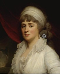 Portrait of Lucy Marsh nee Gosling Gostling 1759?-1845.
