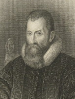 Portrait of Sir John Napier 1550-1617. The inventor of logarithms. Click for larger image.