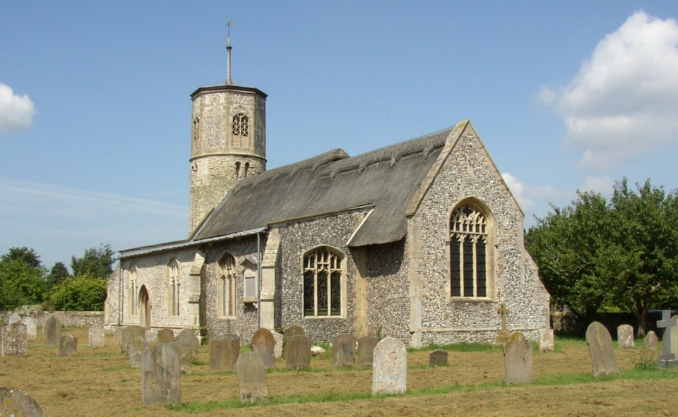 Church of St Mary the Virgin, Beachamwell, Norfolk.