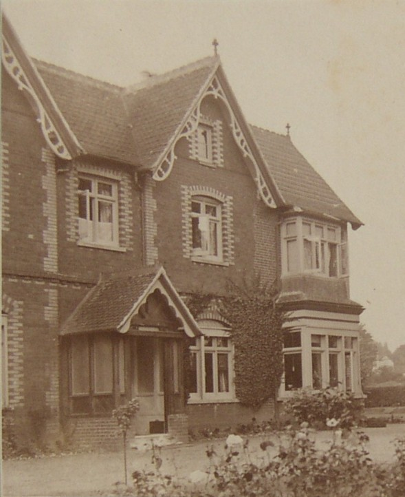 Brooklands House, Cobham. Home of George Heath from 1899 to 1909.