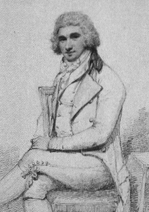 Portrait of James Heath 1757 -1834 ARA Associate of the Royal Academy Historical Engraver to the King Pencil drawing by Henry Edridge, 1810.