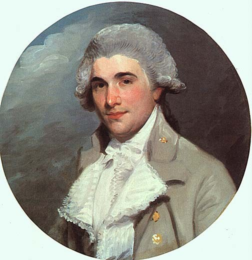 Portrait of James Heath 1757 -1834 ARA Associate of the Royal Academy Historical Engraver to the King painted by Gilbert Stuart in 1784.