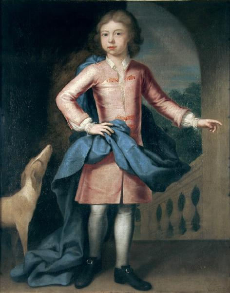 Portrait of John Ives 1718?-1793 Painted by the artist John Theodore Heins 1697-1756 painter