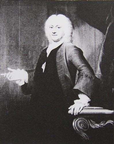 Portrait of Henry Kett painted in 1741 by the artist John Theodore Heins of Norwich Norfolk