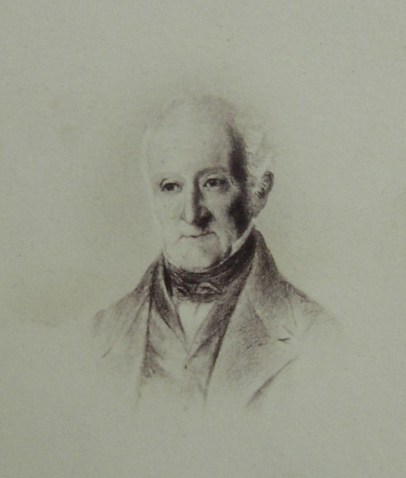 Portrait of Peter Holland, 1766-1855 Surgeon, Doctor of Church House, Knutsford, Cheshire