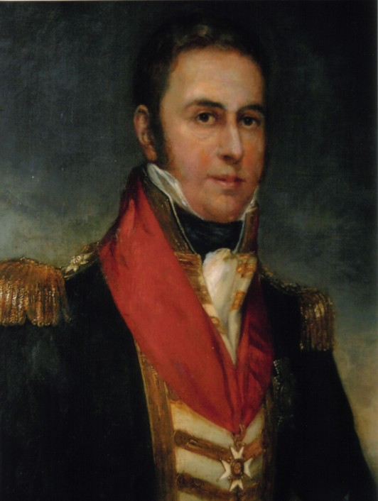 Believed to be a Portrait of Adm Sir Graham Moore 1764-1843.  Brother of Lieut-General Sir John Moore.  Artist not known.