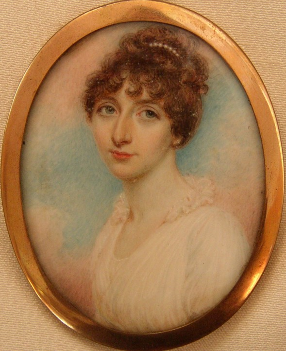 Miniature Portrait of Harriet Moore nee Henderson 1779-1866