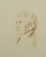Portrait of Bernard Barton 1784-1849 the Quaker Poet of Woodbridge in Suffolk click for larger image