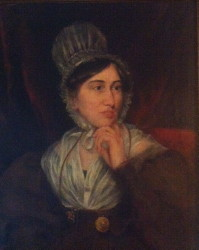 Portrait of Lucy Barton who married the author Edward Fitzgerald