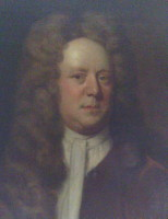 Portrait of James Crompton 1674-1745 of Breightmet Manor.  Click for larger image.