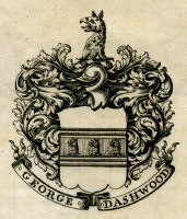 Bookplate of George Dashwood