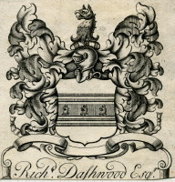 Bookplate of Richard Dashwood