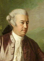 Portrait of Gerard De Visme painted in 1783 by Thomas Hickey.  From the National Trust Collection.