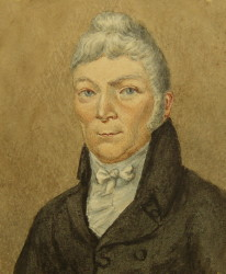 Portrait of the Reverend Charles Fowler 1773-1840 of Southwell, Nottinghamshire