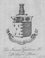 Sir James Graham Bt of Portland Place.  Who was he?