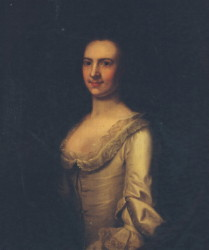 Portrait of Elizabeth Beaumont (died 1792) painted by the artist John Theordore Heins 1697-1756 of Norwich Norfolk