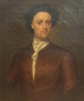 Portrait of Robert Crow (Crowe) 1710-1786 of Swaffham