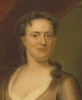 Portrait of Lydia Harvey nee Black (1699-1759) Click for larger image.