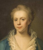 Portrait of Elizabeth Harvey nee Blyford 1718-1741