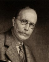 Portrait of Ernest Dudley Heath artist painter author