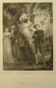 Tempest Painted by Thomas Stothard RA, Engraved by James Heath Engraver to his Majesty and his RH the Prince of Wales. Click for larger image