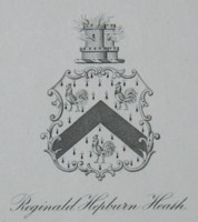 Bookplate of Reginald Hepburn Heath