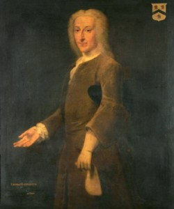 Portrait of Thomas Harwood Mayor of Norwich in 1728 painted by the artist John Theodore Heins 1697-1756 painter Norfolk