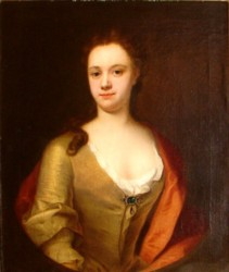 Portrait of an Unknown Lady Painted by the artist John Theordore Heins 1697-1756 painter of Norwich, Norfolk.