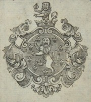 Bookplate of a member of the Holland family. Click for larger image