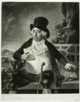 Portrait of Charles James Fox engraved by Johann Gerhard Huck 1759-1811 artist and engraver Click for larger image