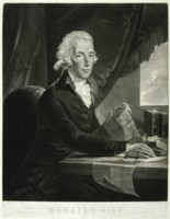 Portrait of William Pitt engraved by Johann Gerhard Huck 1759-1811 artist and engraver Click for larger image