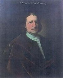 Portrait of Thomas Marsham of Stratton painted by the Norfolk Artist John Theordore Heins in 1720 painter of Norwich